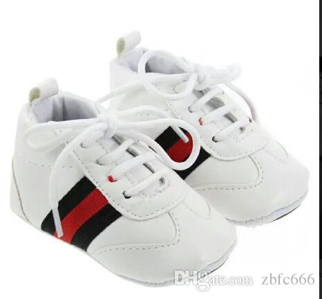 Vintage Classic Children Baby Kids Boy Girl Floor Shoes Non-Slip Soft Toddlers First Walkers Striped