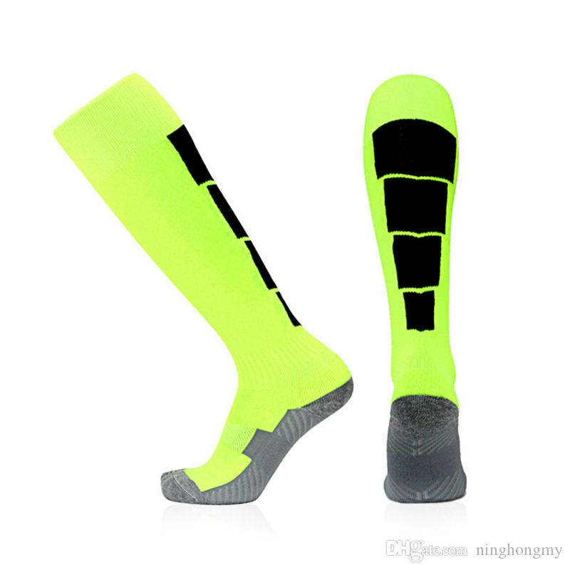 Fashion Men Women Anti-Fatigue Socks Pain Relief Soft Towel Bottom Magic Nylon Support Knee High Stocking Anti-slip Suck sweat breathable