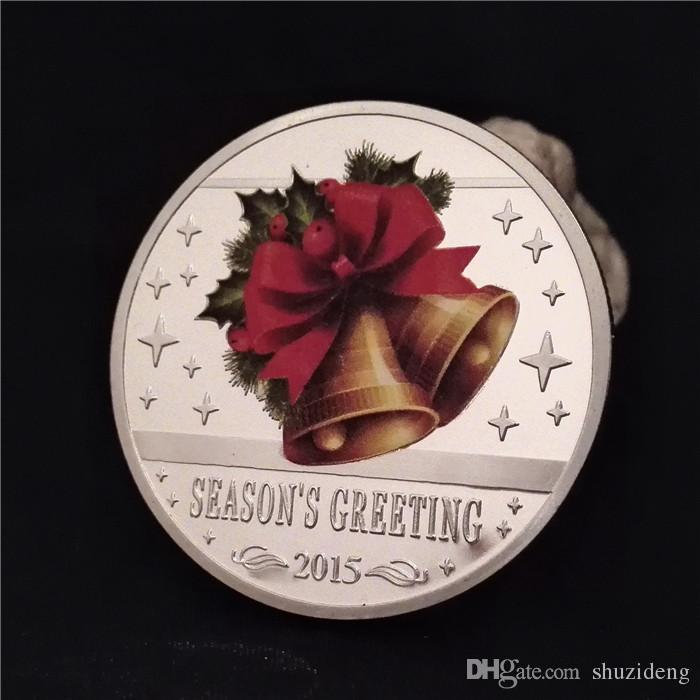 Großhandel Neues Jahr Weihnachten Santa Claus Bell Geschenke ...