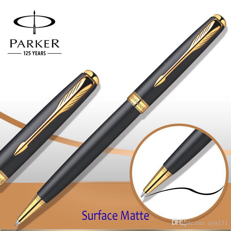 Parker Sonnet Series Ballpoint Pen Silver / Golden Clip Parker Ball Point  Pen Refill for Business Writing Office Supplies Parker Pen Parker Ball  Point Pen ...