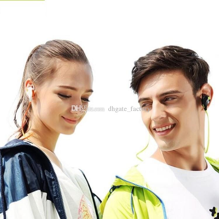 Portable Neckband Noise Cancelling Sport In Earphone Microphone Running QY7 wireless bluetooth 4.1 headphones Fast ship