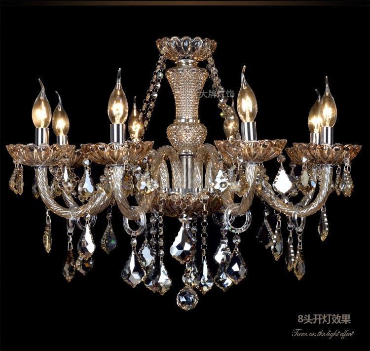 Modern crystal chandelier Lighting Pendant Chandeliers Crystal light Living room bedroom lamp K9 Crystal Luxury