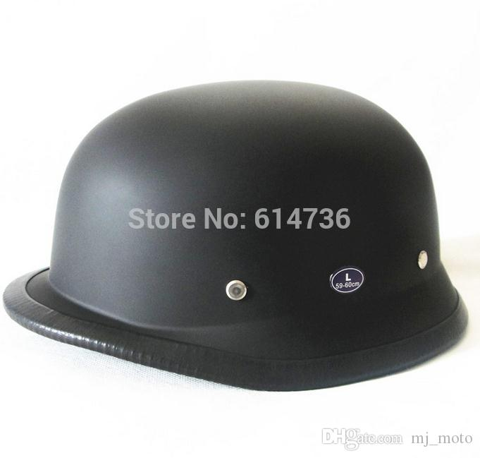 2017 Wholesale price WWII German Style Vintage Motorcycle Vintage Moto Motocicleta Capacete Casco Casque Cruiser Half Helmets DOT Approved