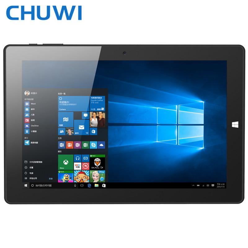 Wholesale- 10.1 inch Tablet PC CHUWI Hi10 Windows10 2in1 Tablet INTEL Z8300 4GB RAM DDR3 64G ROM WIFI HDMI Mini PC Intel SSD OTG Micro USB