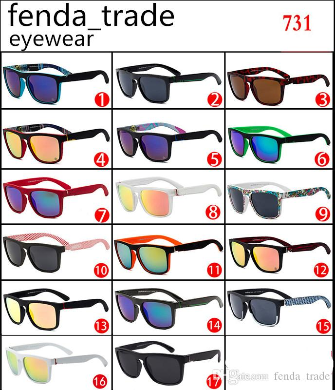 Gute qualität vintage sommer sport sonnenbrille männer designer mode flache top männer sonnenbrille 731 radfahren schnell große quadratische oculos de sol 10 stücke