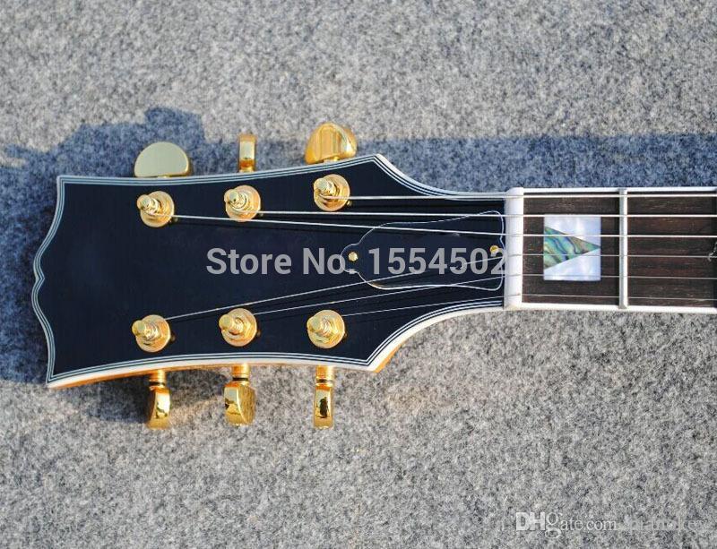 맞춤 기타 저장소, 왼손잡이 OEM 세미 할로우 바디 재즈 기타, 중국 제