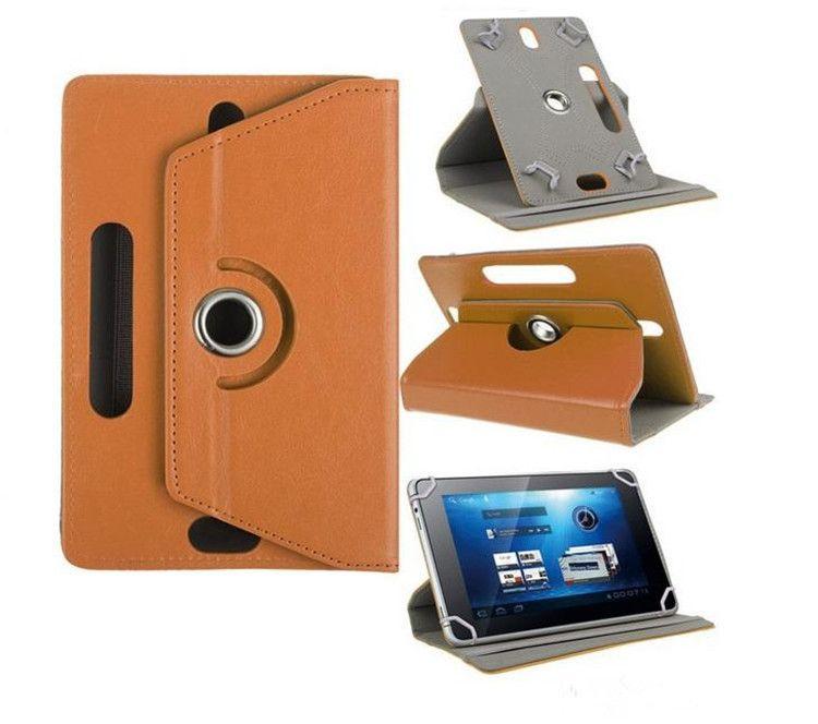 Für Tablet 360 Grad Fall Pu-leder Stehen Falten Flip Cover Eingebaute Karte Schnalle Fällen für Universal 7 8 9 zoll Tablet PC