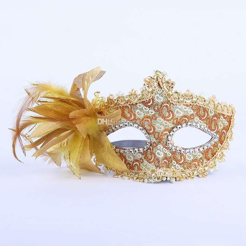 2017 Женская мода Сексуальная маска Hallowmas Венецианский маска для глаз маскарад с Пасхальный танец партии праздник маска груза падения