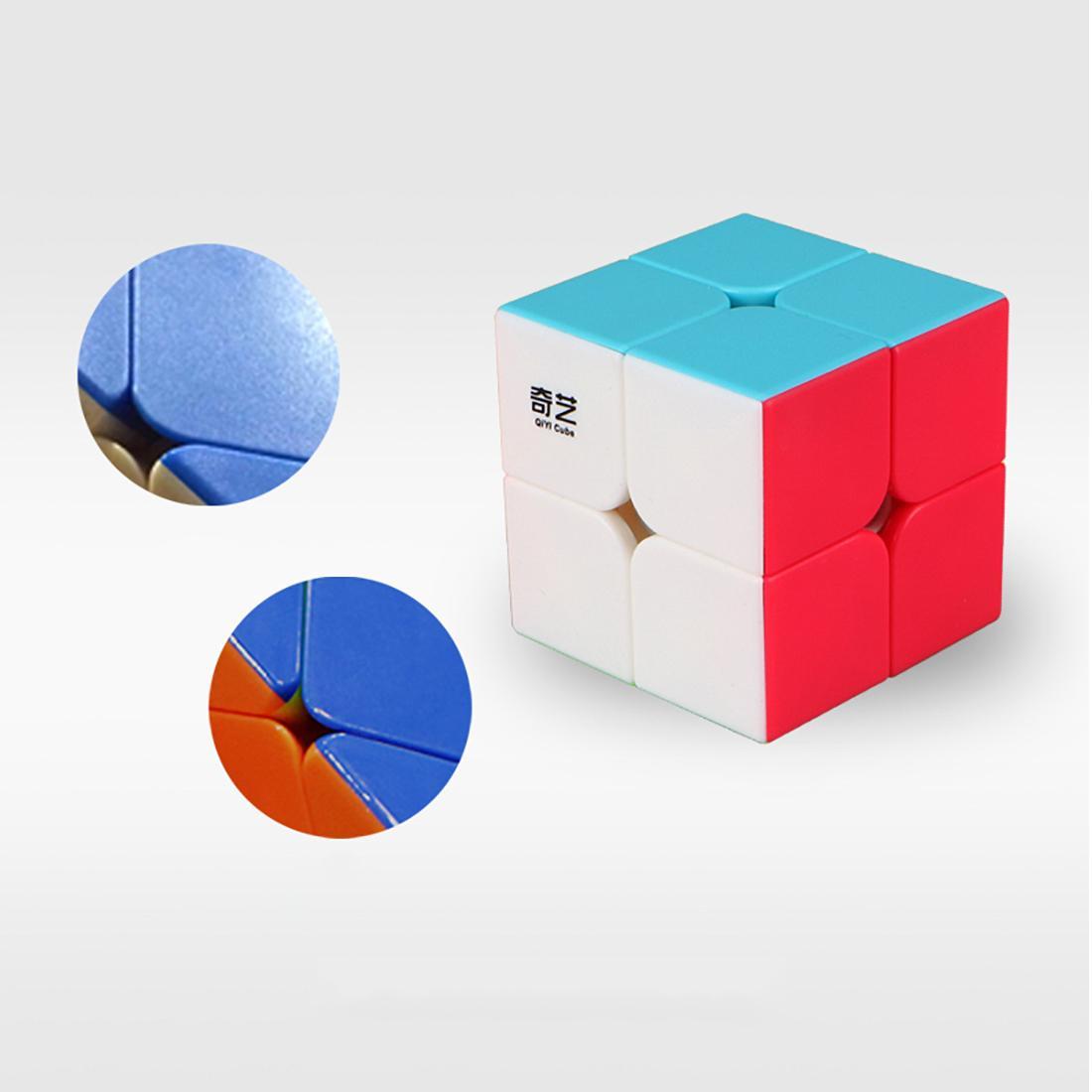 Qiyi QiDi S 2x2 Cubo Mágico Velocidade Cubo Brinquedo