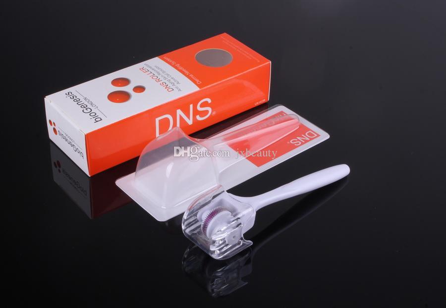 DNS 180 Tianium Mikro İğneler Derma Roller, Dermaroller Sistemi, perakende kutusu ile cilt bakımı tedavisi hemşire sistemi, dünya çapında ücretsiz shiping