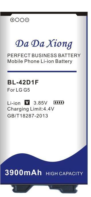 بطارية دا دا شيونغ 3900mAh BL-42D1F إلى LG G5 H850 H820 H830 H831 H840 H868 H860N H860 LS992 US992 F700L F700S F700k VS987