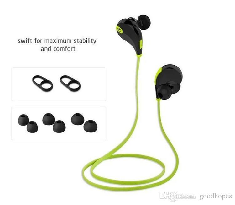 Auricular inalámbrico Bluetooth Q7 Sport Auriculares para correr Manos libres Micrófono Auricular Estéreo Auriculares Auriculares resistentes al sudor