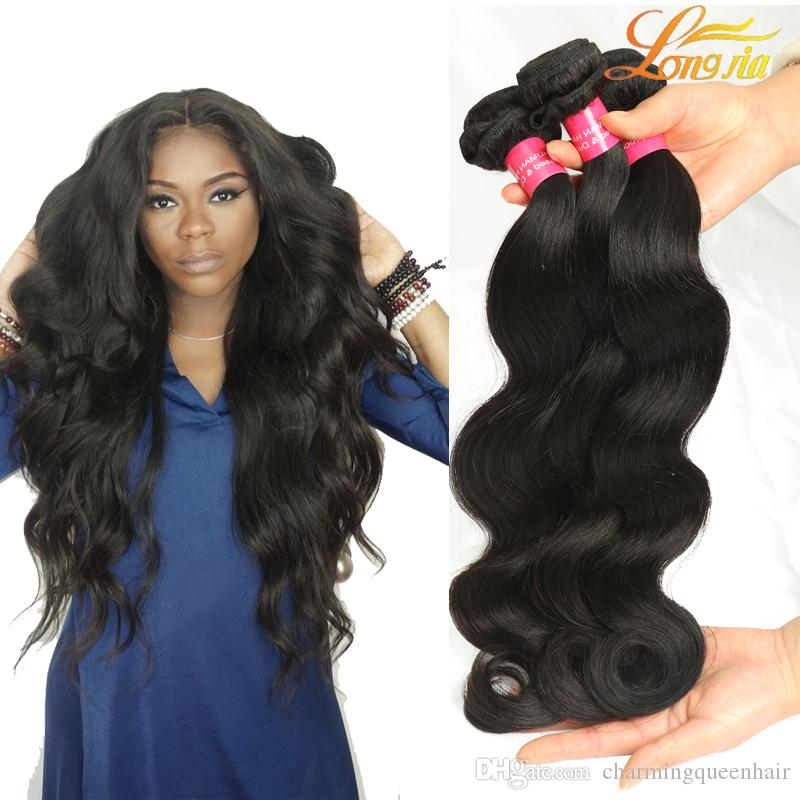 Grace Hair Products Peruvian Body Wave Virgin Human Hair Weave