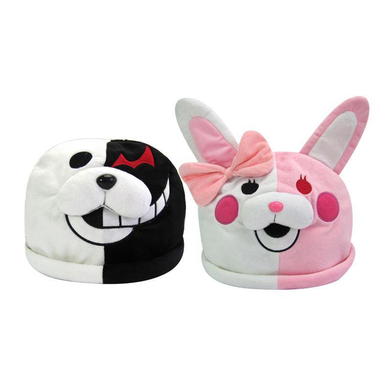 Dangan Ronpa Bear Monokuma Hat Cosplay Wholesale Anime Cartoon Cap Prop Costu Children And A Party Accessories