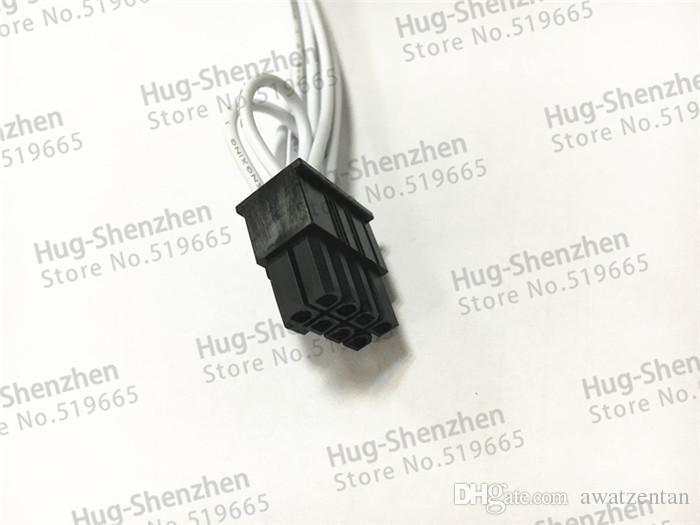 Mini 6pin zu pcie 8pin 8 pin video karte stromkabel unterstützung für Mac pro G5 GTX480 gtx680--/