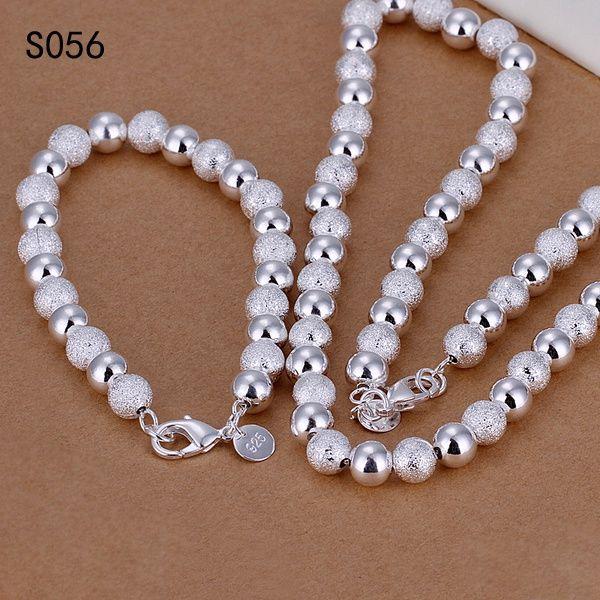Sıcak aynı fiyat gümüş takı setleri, ucuz moda 925 gümüş kolye bilezik takı seti GTS3 fabrikası doğrudan satış