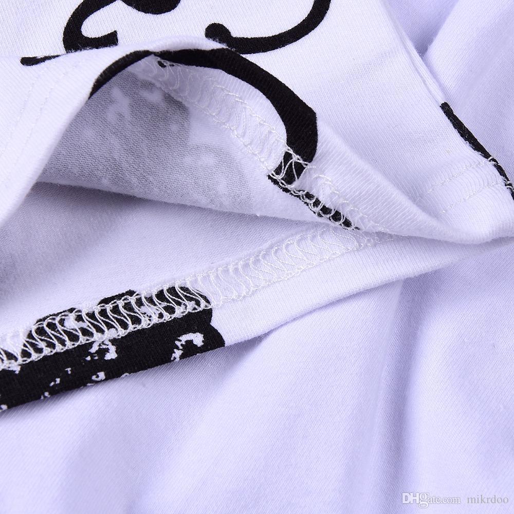 Mikrdoo outono menino menino meninas roupas conjunto crianças nuvem de algodão impresso t shirt branco calças chapéu terno bebês t-shirt bonito t-shirt sleepwear outfits