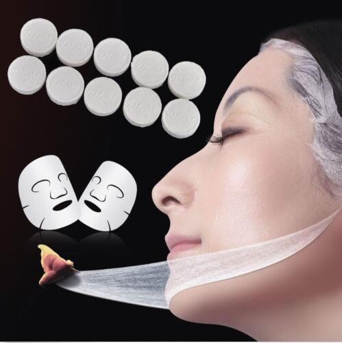 30pcs White Non-woven Cotton Skin Care Compression Facial Paper DIY Face Masks Baza Sween Pro Cream Skin Protectant Moisture Barrier 5 Ounce Tube-1 Each
