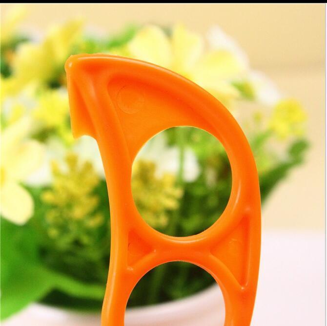 Moda linda forma de ratón limones naranja abridor de cítricos removedor de pelador cortador de cortador pelar rápidamente herramienta de cocina fruta removedor de piel cuchillo