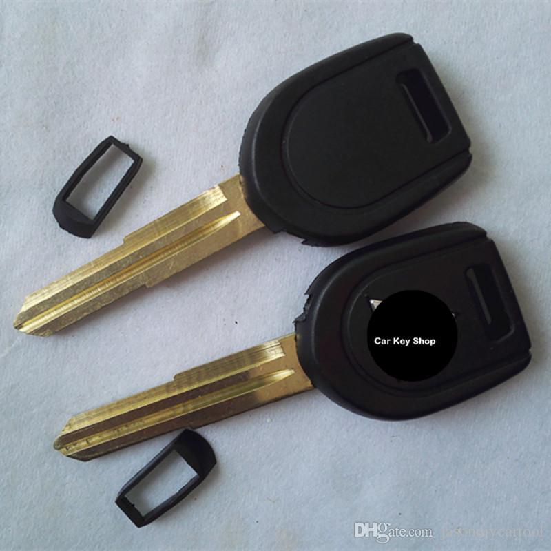 良い品質交換用トランスポンダーキーケースシェルシーバーのロゴ付き右キーブレード