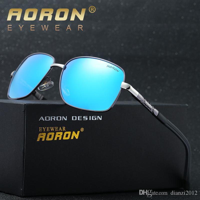 655ac32c60 Compre Moda Gafas De Sol Polarizadas Para Hombre 2017 Oculos De Colores De  La Lente Deportes Al Aire Libre Que Conducen Gafas De Sol Masculinas Classic  ...