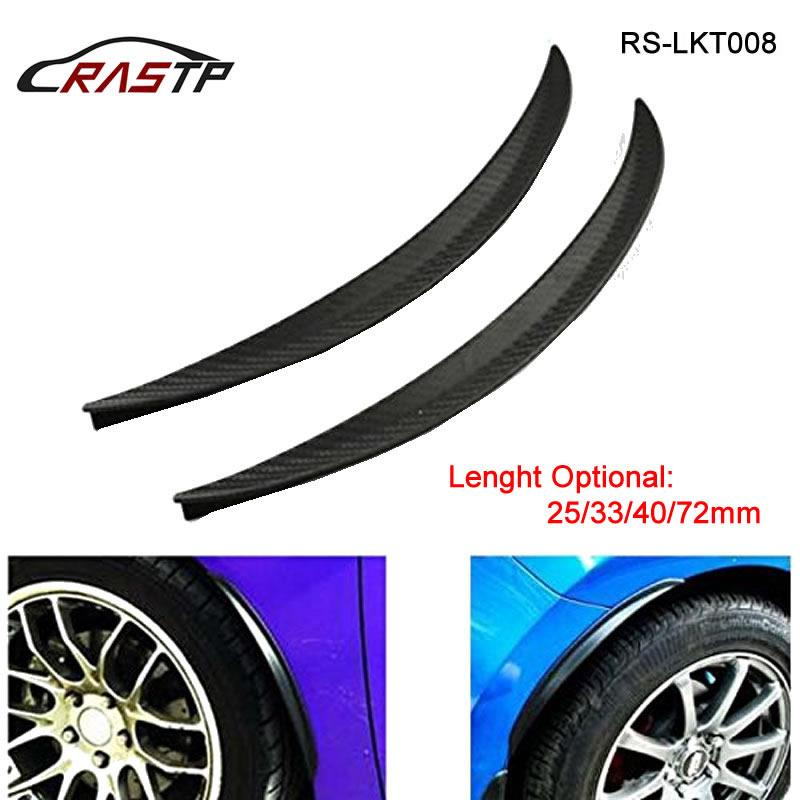 Rastp Car Stickers Rubber Large Round Arc Strips Universal Fender ...