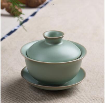 Ru Kiln Kung Fu Tea Set Chinese Ceramic Teapot Porcelain Pot /& Tea Cup Elegant