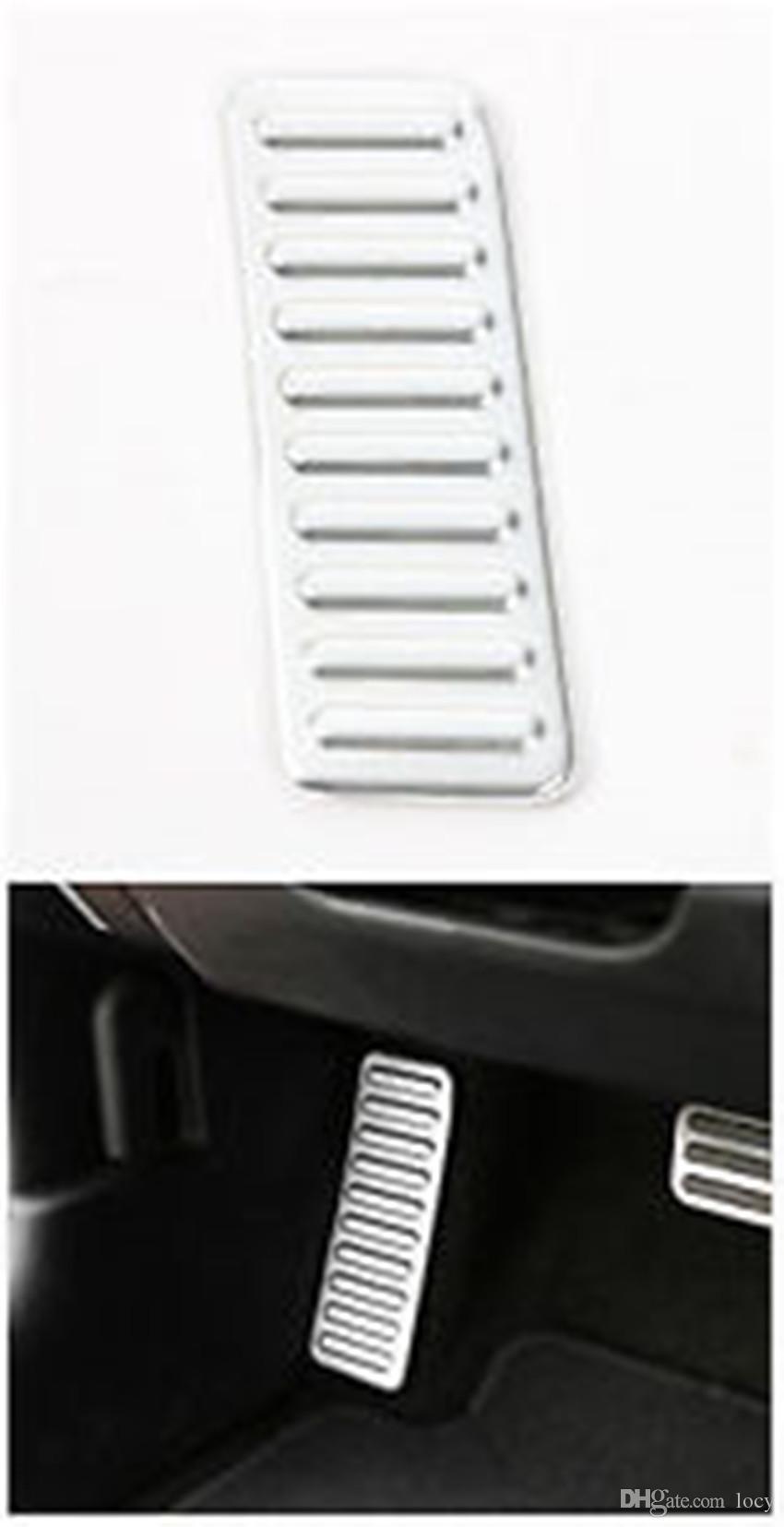Pedal de aluminio del pie izquierdo para el Ford Mustang 2015-2017