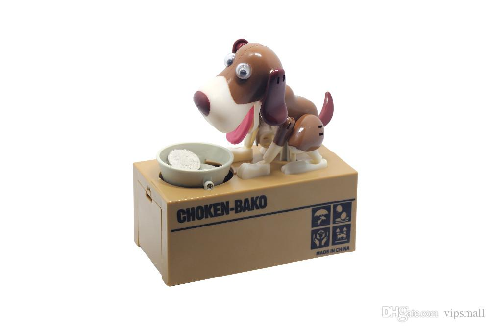 Robotic Dog Banco Canino Money Box Money Bank Automatic Stole Coin Piggy Bank Money Saving Box Moneybox Christmas Gifts for kid
