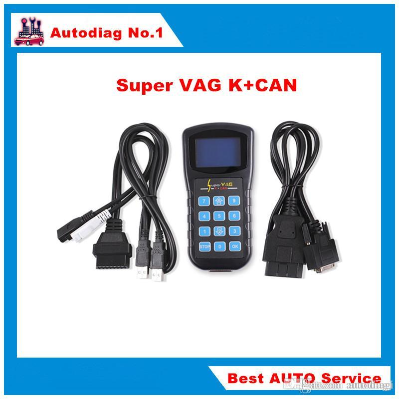 Super VAG K+CAN V4 8 Super VAG K CAN 4 8 Odometer Correction Tool Airbag  Reset tool Key programmer For AUDI VW Skoda vag k can STOCK