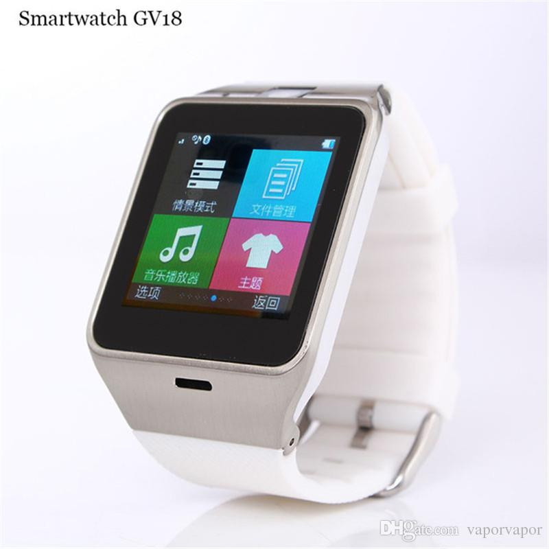 GV18 Smartwatch Bluetooth Smart Watch Camera Support SIM TF Card Whatsapp WristWatch FOR Android IOS With NFC Function