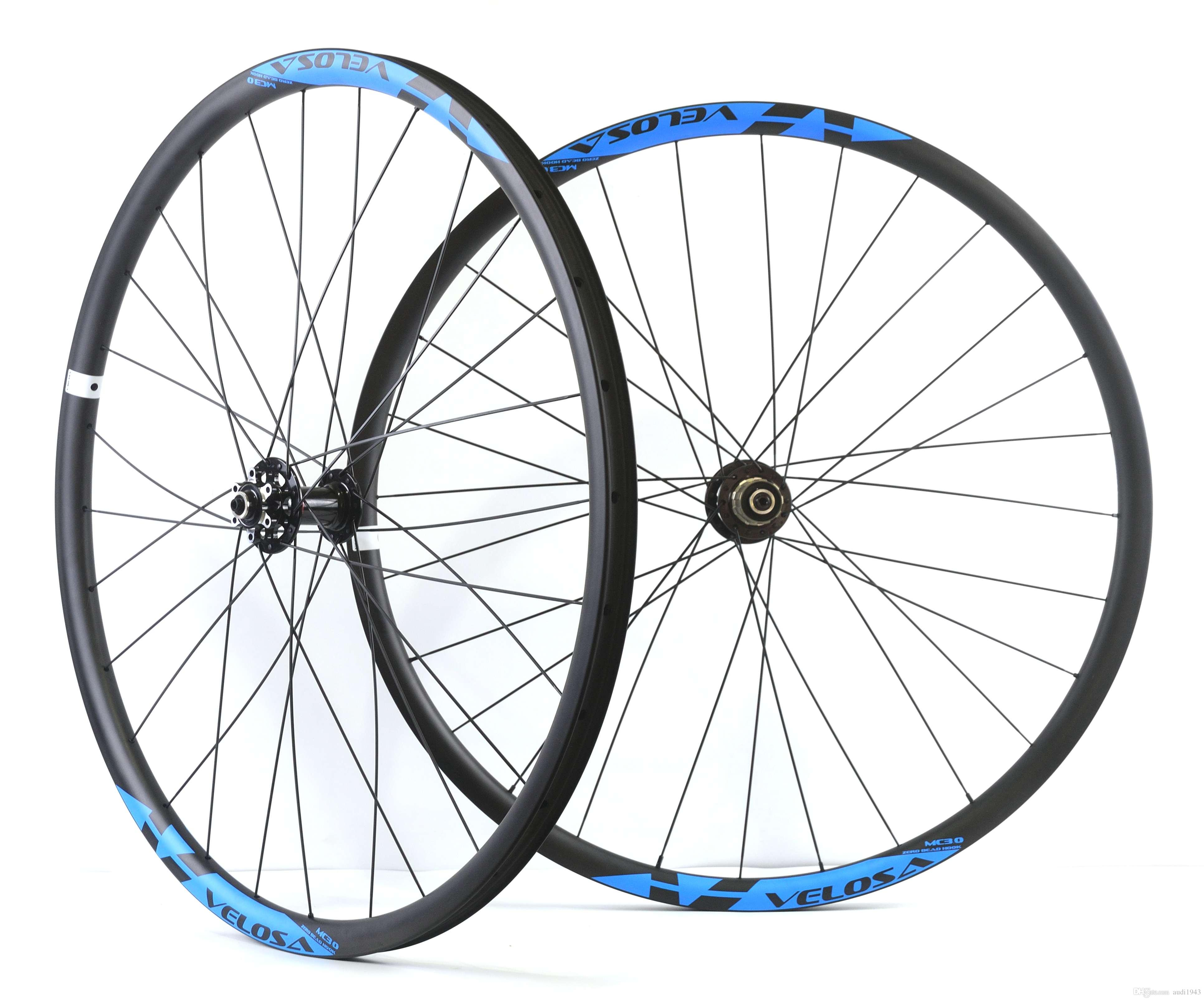 Velosa 29inch Mtb Carbon Wheelset 29er Carbon Mountain Bike Xc