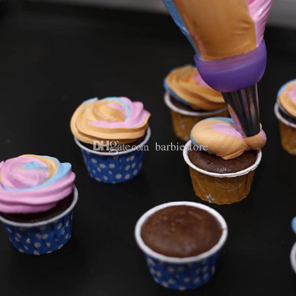 케이크 꾸미기 Icing Piping Cream Pastry Bag 노즐 변환기 E00257 BARD