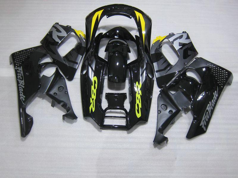 Hot sale Fairing kit for Honda CBR 900RR 1996 1997 glossy black fairings set for CBR900RR 96 97 OT13