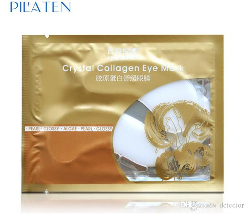 HOT PILATEN 콜라겐 크리스탈 아이 마스크 뷰티 다크 서클 수분 눈 치료 여성들의 생일 선물 호의
