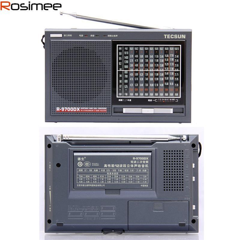 ... Them Double Conversion 12 Band Stereo Radio Tecsun R9700DX High Quality  FM Radio Hot Sale Radio Amp Radio Radio Tv Radio Shower Online With  $73.0/Piece ...