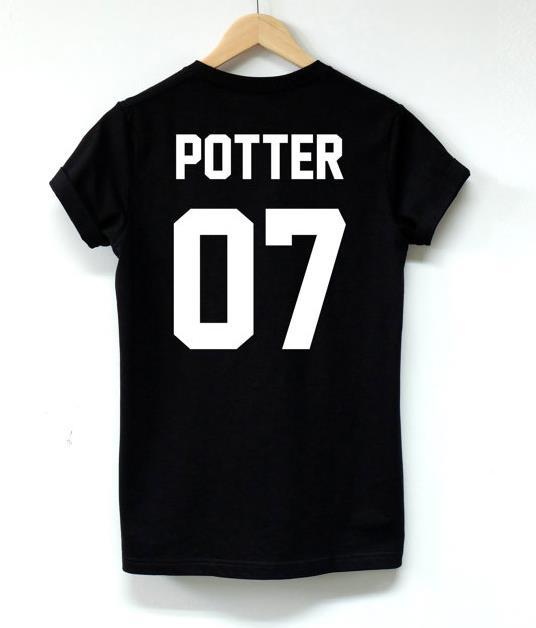 6cbc133498c Wholesale-HARRY POTTER 07 BACK Print Women Tshirt Cotton Casual ...