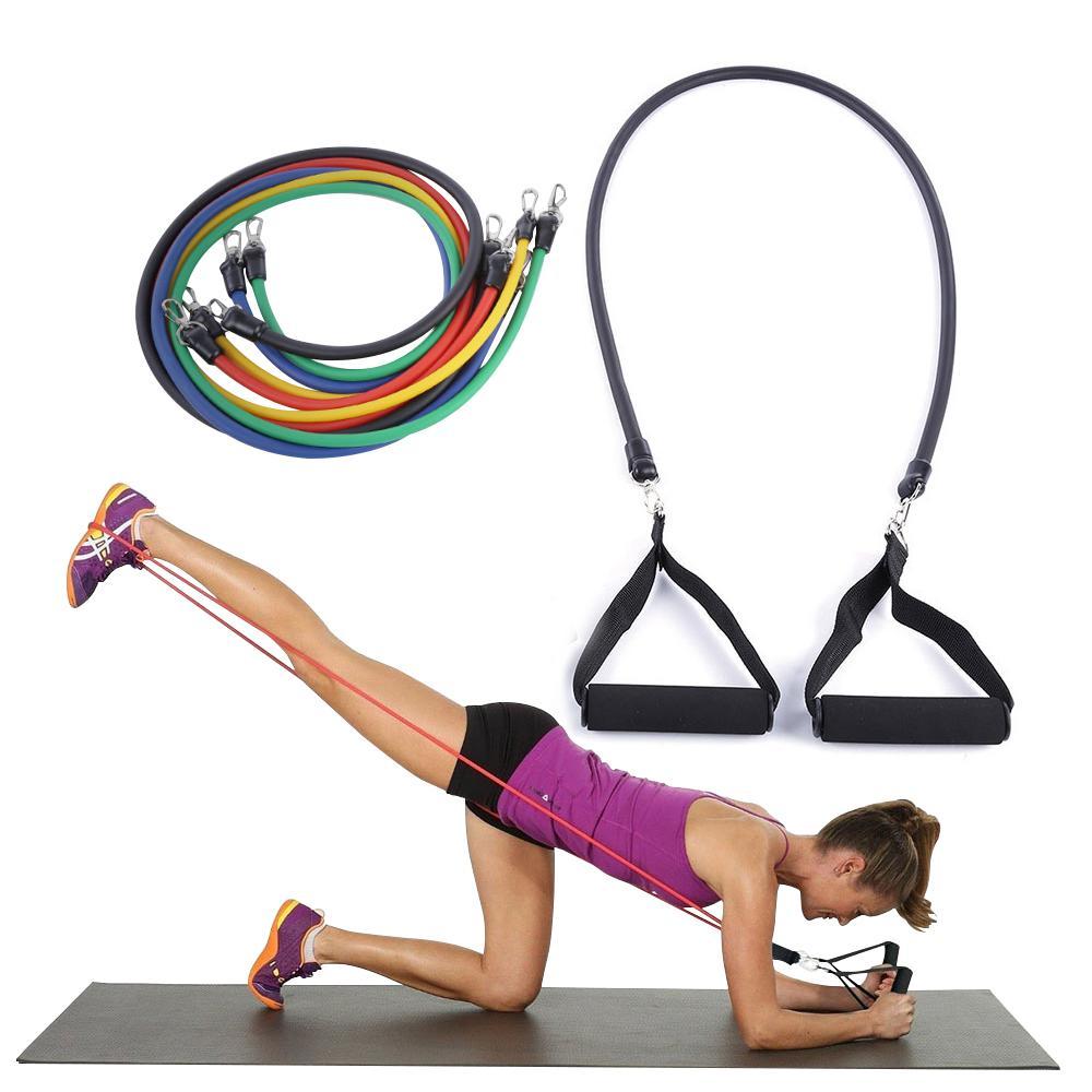 2017 Pilates Latex Tubing Expanders Exercise Tubes