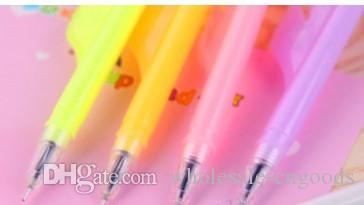 manufacturer sells the south Korean creative stationery for the evening light feather pen all needle tube neutral pen