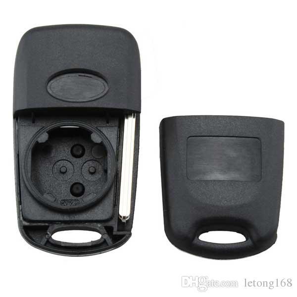 Гарантированный 100% стайлинга автомобилей 2 кнопки флип дистанционного ключа оболочки подходят для HYUNDAI Verna флип дистанционного брелока Бесплатная доставка