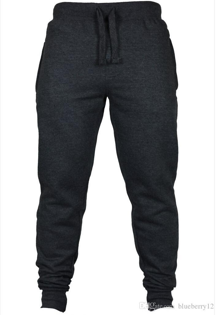 Jogger Pantolon Chinos Sıska Joggers Kamuflaj Erkekler Yeni Moda Harem Pantolon Uzun Düz Renk Pantolon Erkekler Pantolon