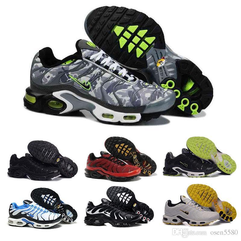 Compre Nike De Novos Sapatos De Nike Corrida Homens Tn sapatos Sell Like Hot 6a78bf