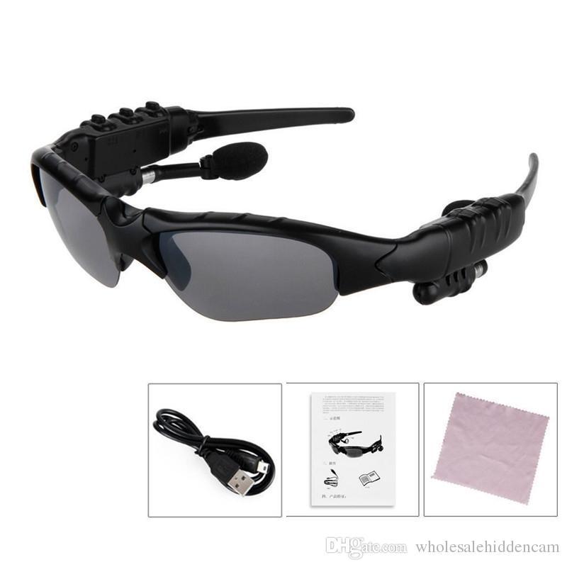 Óculos inteligentes bluetooth v4.1 óculos de sol óculos de sol esportes fone de ouvido mp3 player bluetooth telefone sem fio fones de ouvido bluetooth óculos