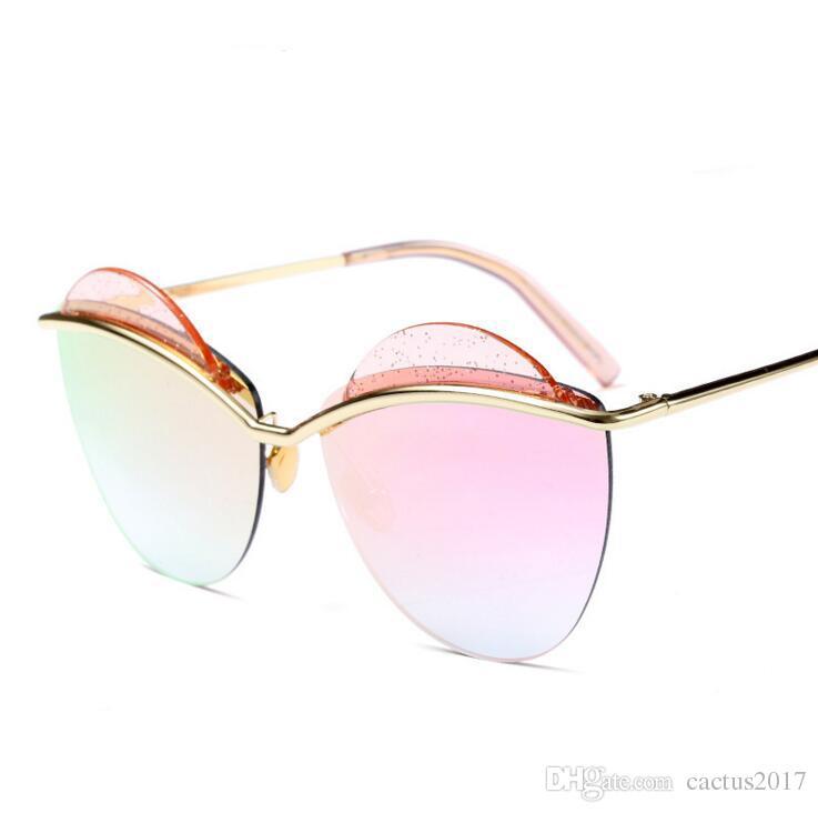 7555213c67d Leopard Pattern Trend Personality Sexy Irregular Women Sunglasses ...