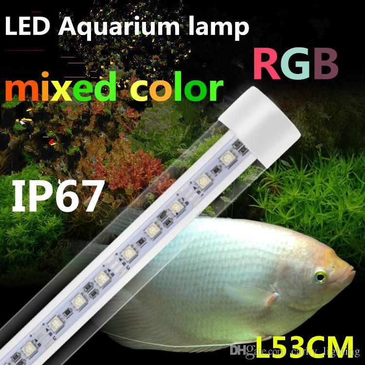 Led T8 Tube Aquarium Lamp,Waterproof Ip67,With 2.4g Remote