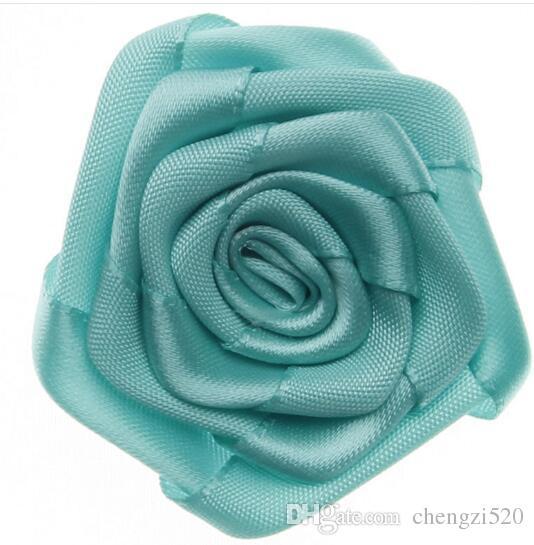 Gül Bud Toptan Giyim Aksesuarları 3D Gül Tomurcuk Tek Çiçek Kafa Ev Dekoratif Malzeme YH674