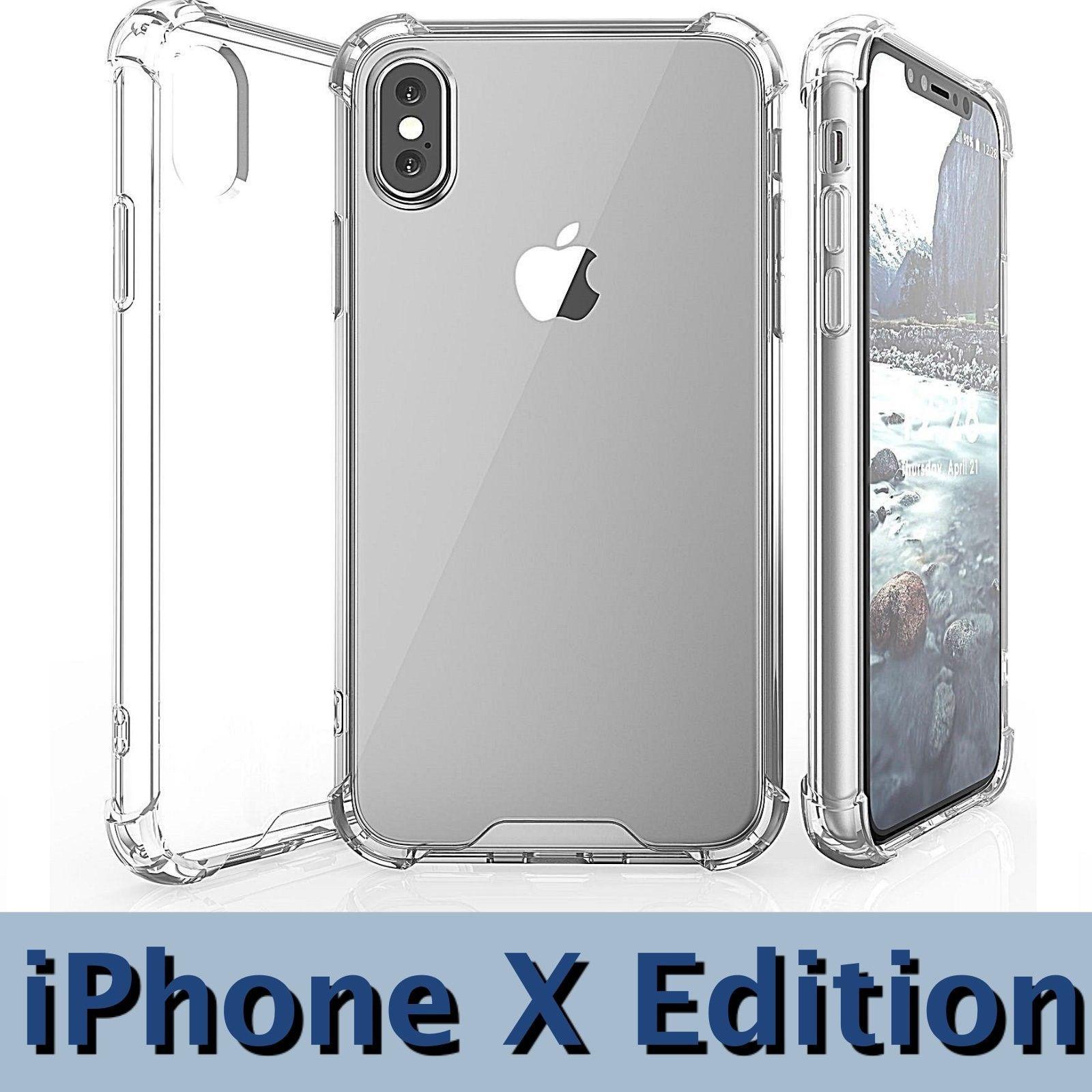 Günstige Handyhüllen Neue Ankunft Iphone X Edition Fall Bumper Antislip Antiscratch Cover Für Iphone 10 Hd Clear Schutz Weichen Handy Fall Silikon