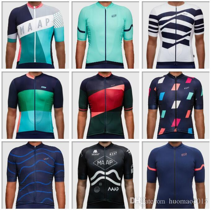 18 Styles Classic Maap Pro Racing Cycling Jersey Shirt Mtb Bicycle