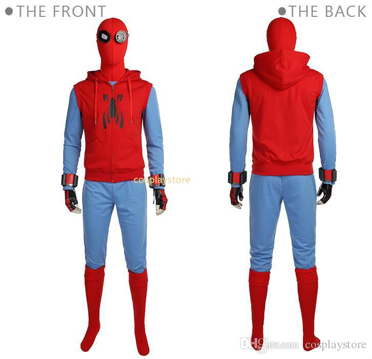 Spiderman Homecoming Cosplay Costume Tom Holland Spiderman Costume