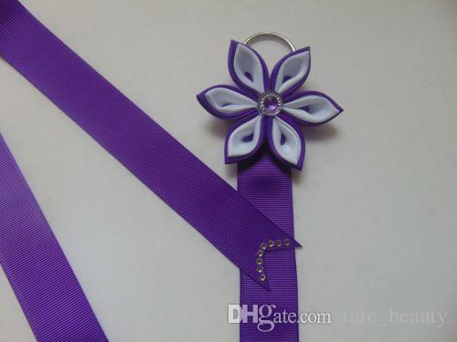 Suporte de arco para adolescentes meninas e crianças Rainbow Hair Bow / Clip Titular Birthday / Easter / Gift.\